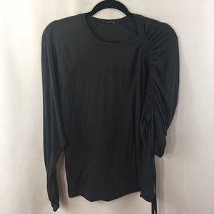 Zara Trafaluc TRF Top small Asymmetrical Sleeve